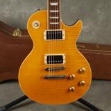 Burny RLG55 Electric Guitar - Amber w/Hard Case - 2nd Hand
