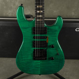 Carvin DC145 Electric Guitar - Green w/Hard Case - 2nd Hand