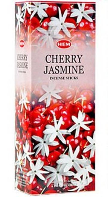 Hem Cherry Jasmine Incense, 120 Stick Box