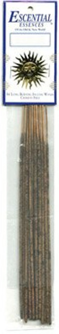 Ebony Opium Escential Essences Stick Incense, 16 Sticks