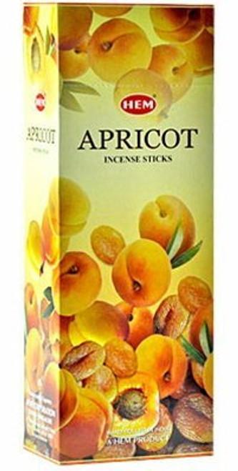 Hem Apricot Incense, 120 Stick Box