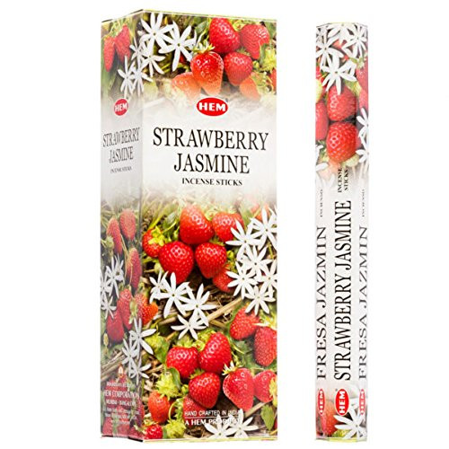 Hem Strawberry Jasmine Incense, 120 Stick Pack