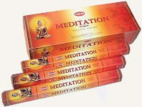 Hem Meditation Incense Sticks, 120 Stick Pack