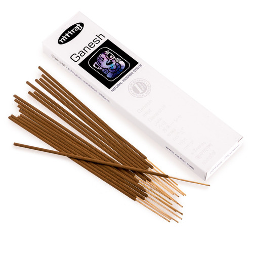 Nitiraj Premium GANESH Natural Incense Sticks 25 grams