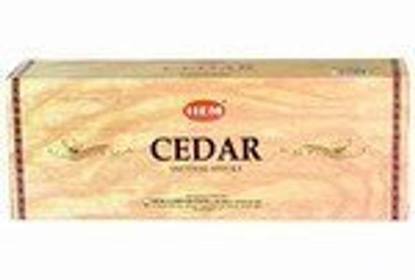 Hem Cedar Incense, 120 Stick Box