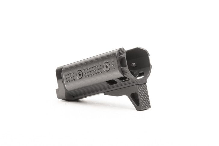 """AK 3.7"""" - Micro Lite Keymod w/ Carbon Fiber Panels"""