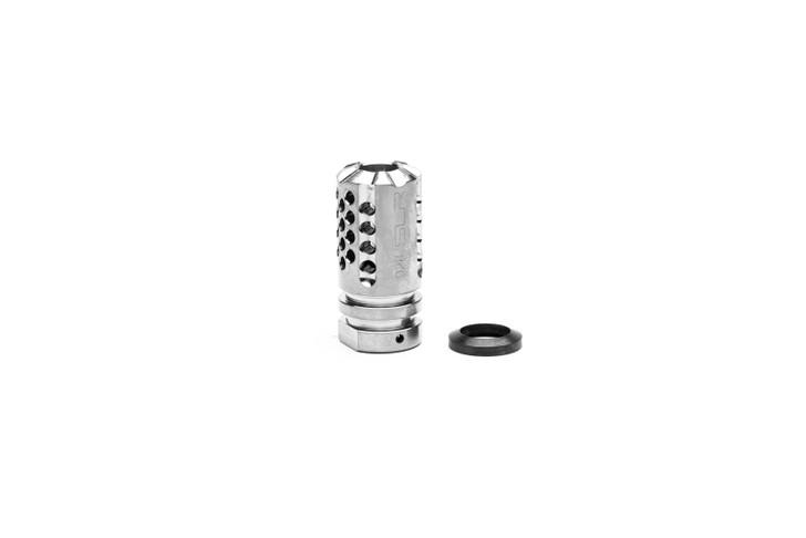 Synergy Mini Comp 9mm 1/2x28 - Titanium