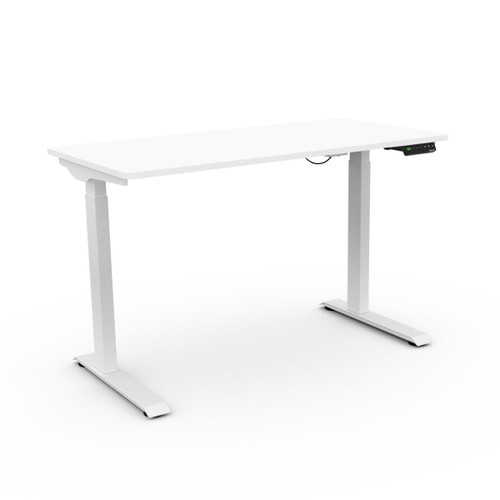 Semi-Assembled Easy Setup Electric Height Adjustable Standing Desk for Home office,  with Anti-Collision protection System, 120X60 cm