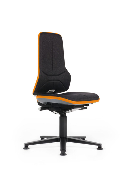 Neon 1 Industrial Swivel Chair With Glides