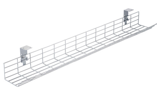CMD Fusion under desk cable basket/tray- Available in five lengths from 800 to 1600 mm
