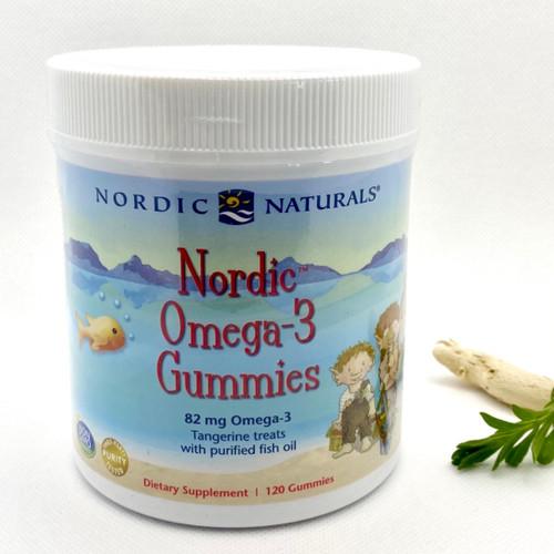 Nordic Omega-3 Gummies  qty 120
