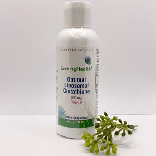 Optimal Liposomal Glutathione Tropical 500mg (4 oz)