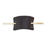 LUXURY HAIR BARRETTE BLACK (BA-GF-BARR-BLACK) by Balmain Paris Hair Couture