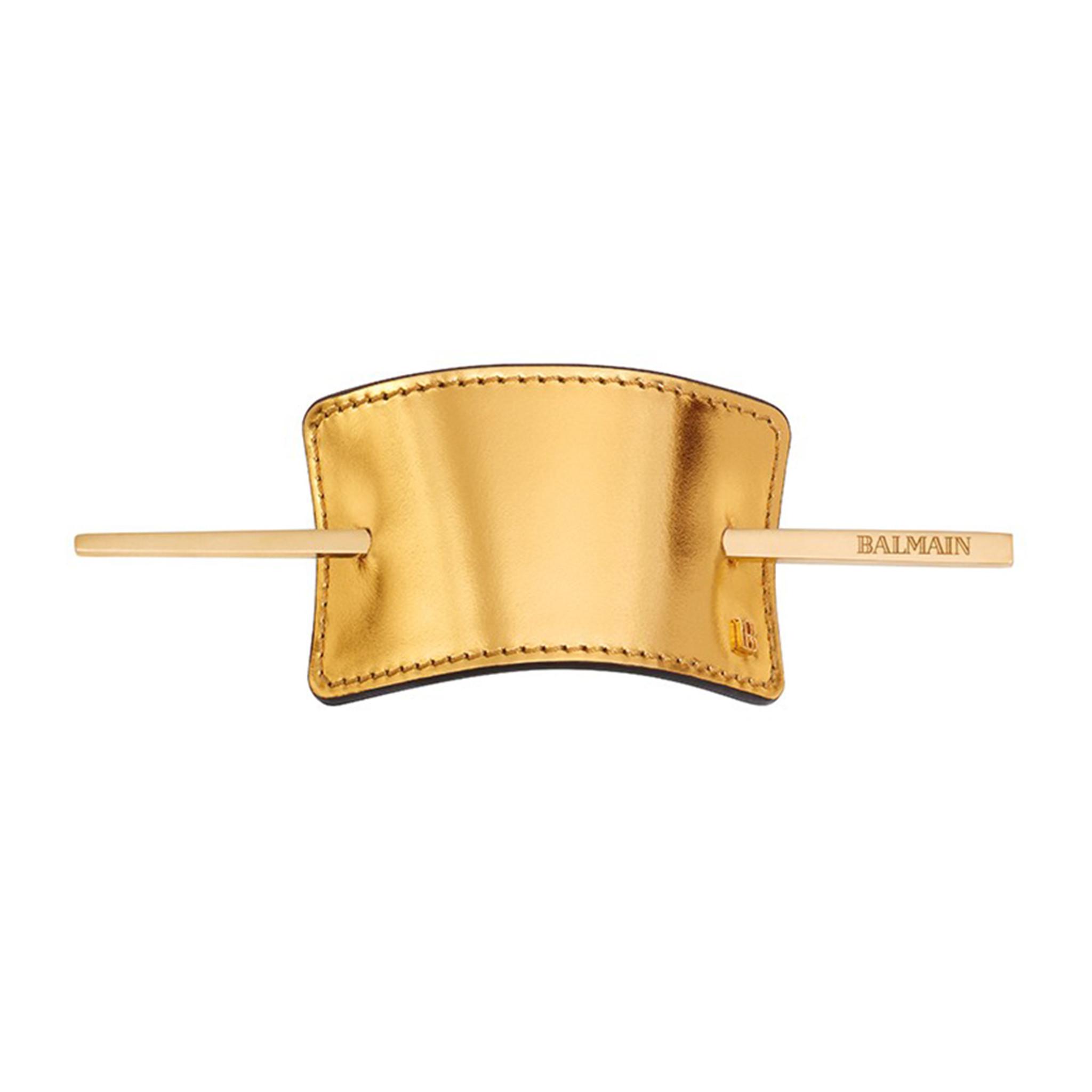 LUXURY HAIR BARRETTE GOLD by Balmain Paris Hair Couture