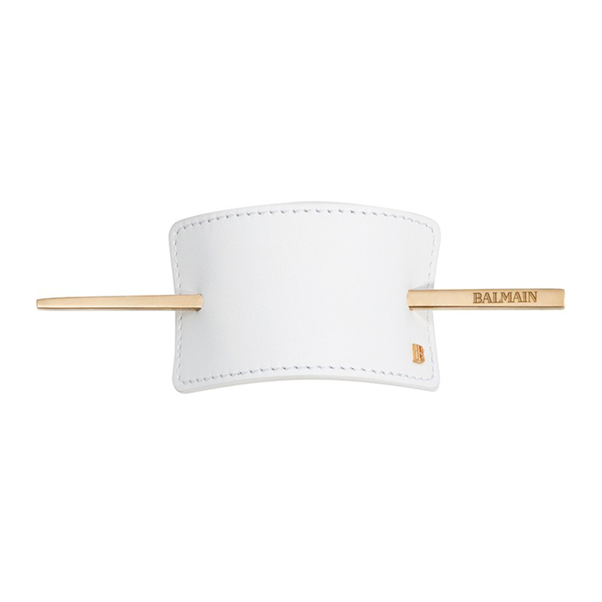 LUXURY HAIR BARRETTE WHITE by Balmain Paris Hair Couture