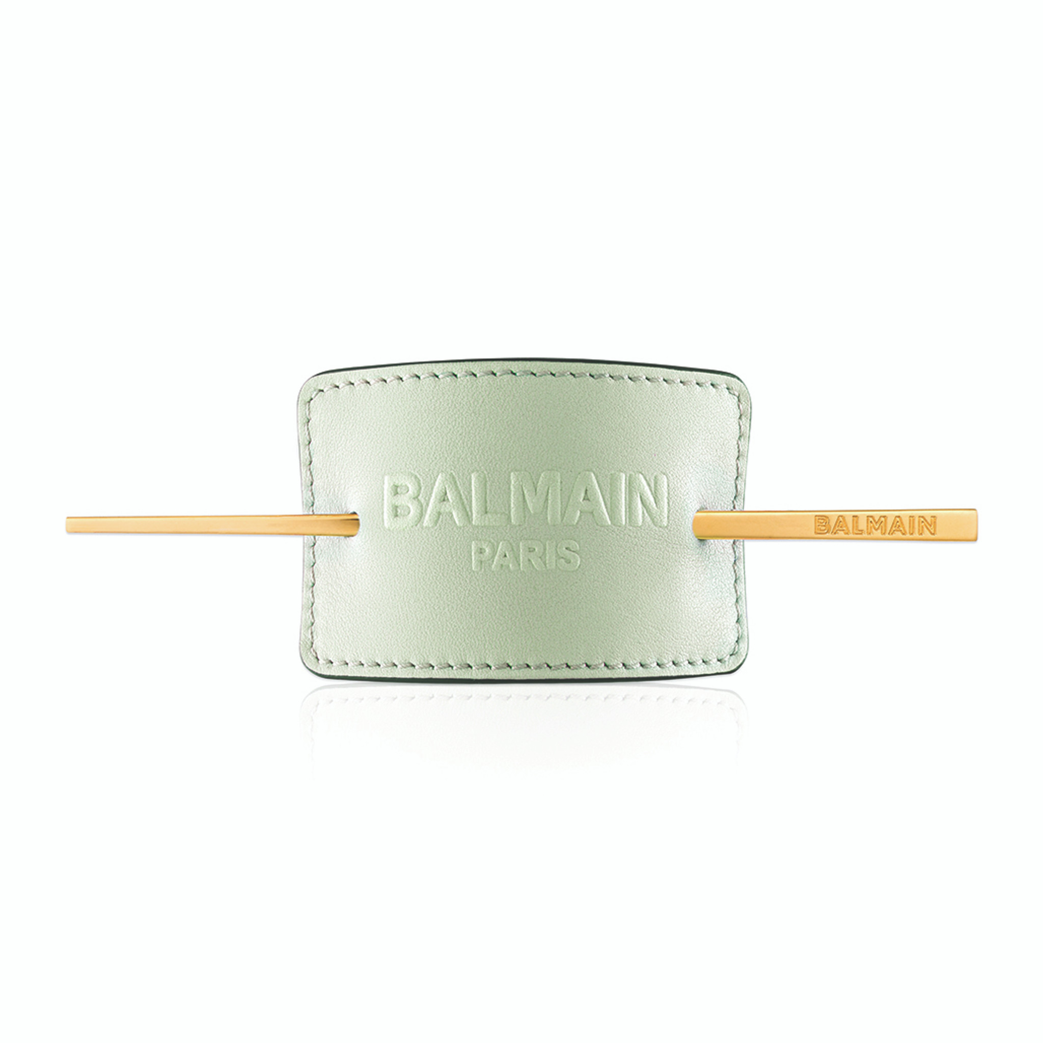 PASTEL GREEN LUXURY HAIR BARRETTE (Limited Edition SS20)