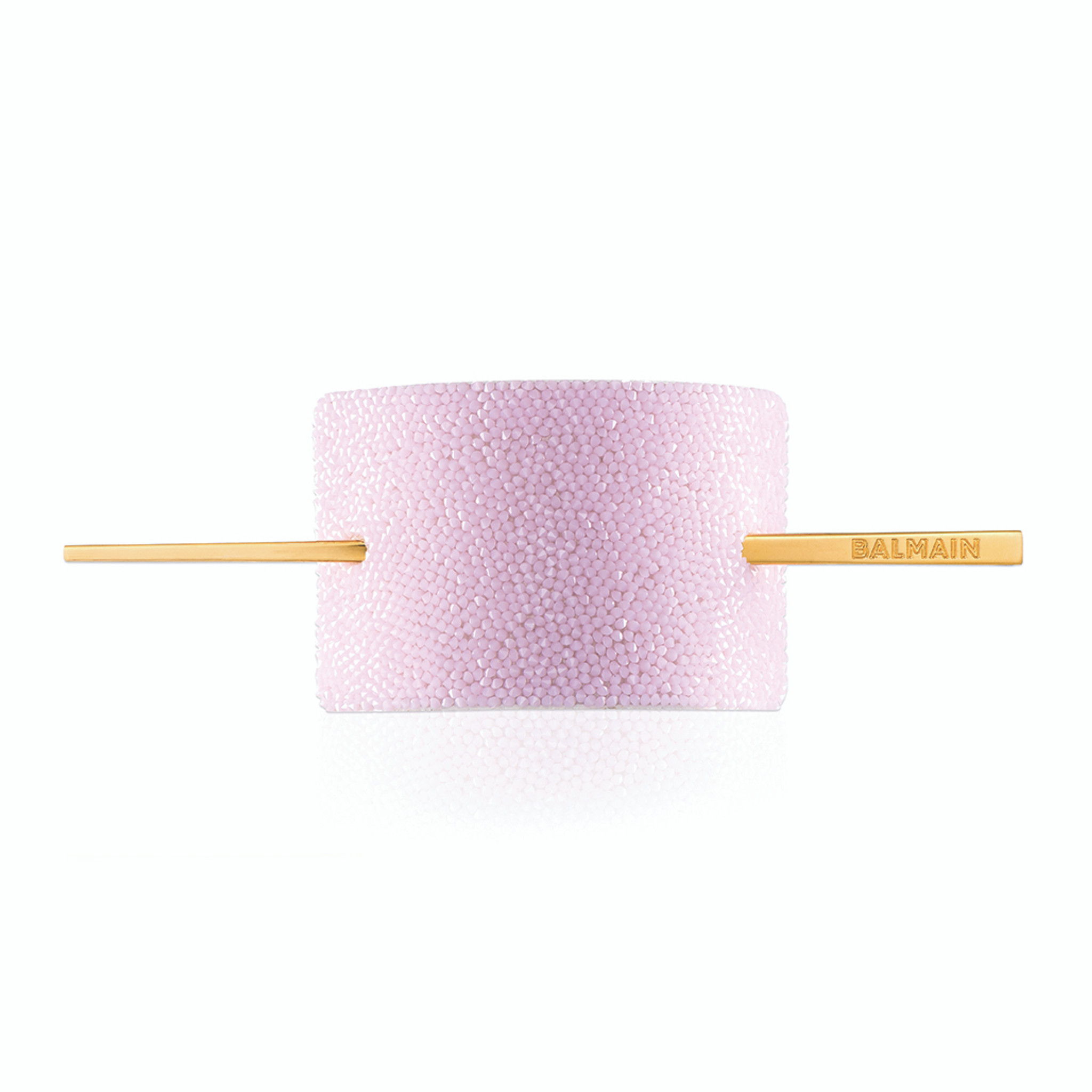 LUXURY HAIR BARRETTE CRYSTAL PINK (Limited Edition SS20)