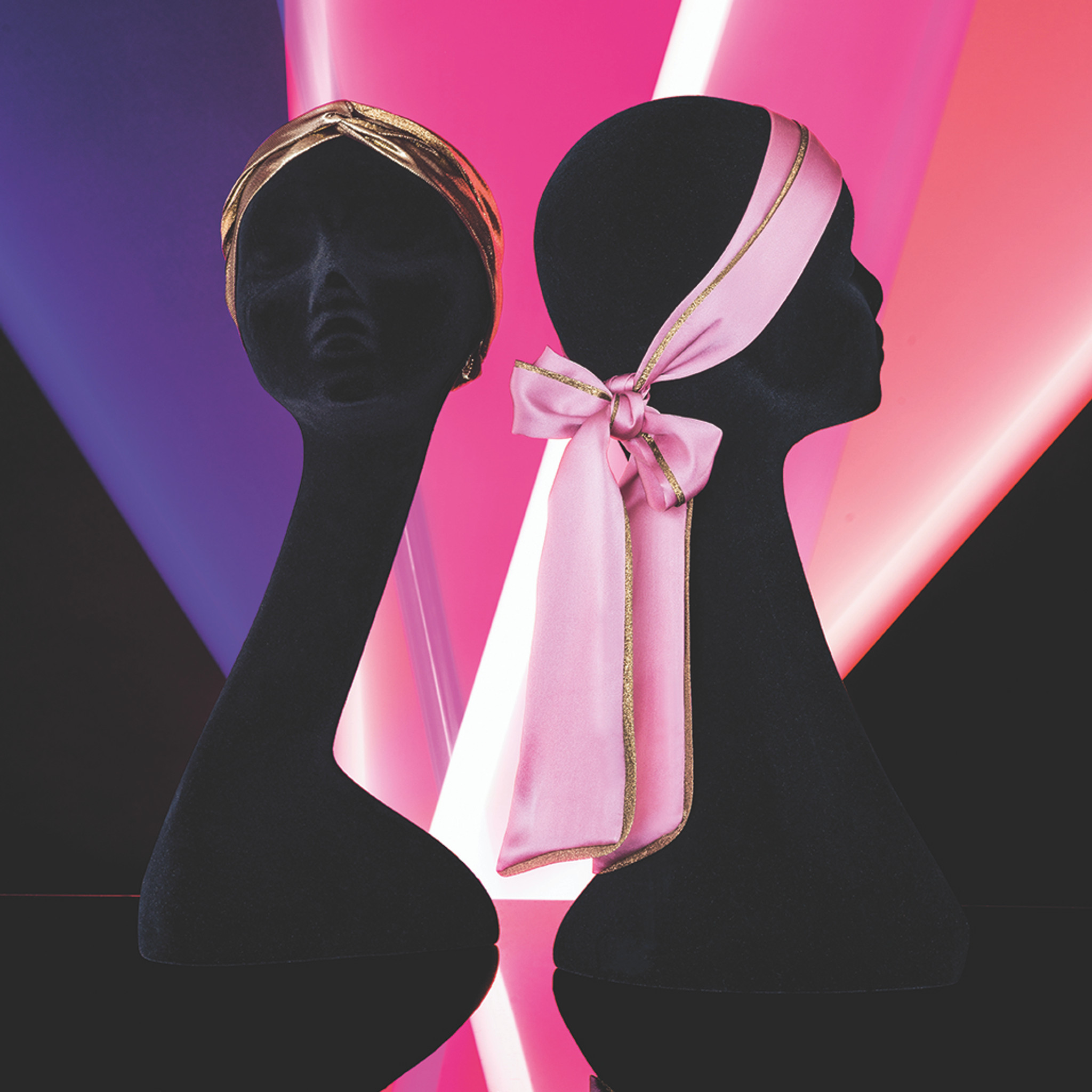 SILK HAIR SCARF GOLD (Limited Edition SS20)