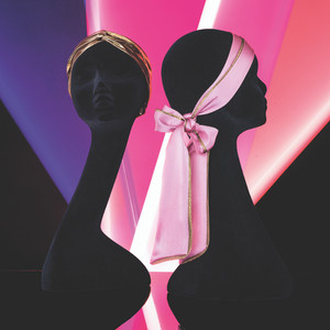 SILK HAIR SCARF PINK (Limited Edition SS20)