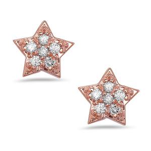 Sparkle Diamond Stud Earrings