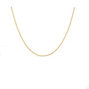 14K Gold Ball Chain, 1.5 mm