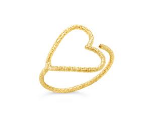 Big Heart-Open Ring