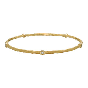 Orbit Diamond Bangle Bracelet