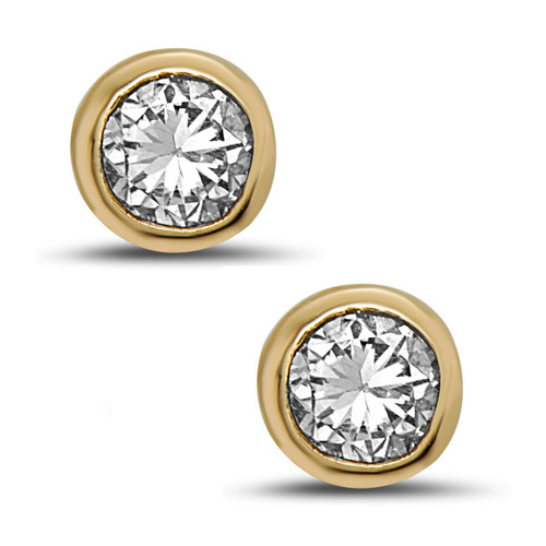 Glitz Diamond Stud Earrings
