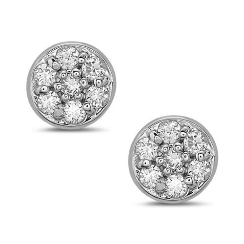 Sunshine Diamond Stud Earrings