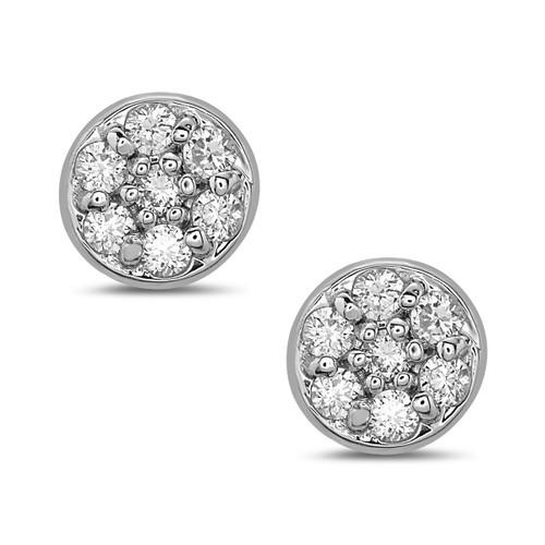 Sunshine Diamond Stud Earrings