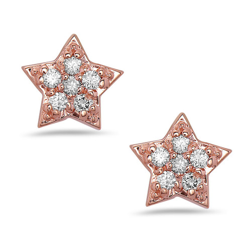 Sparkle Diamond Stud Earrings