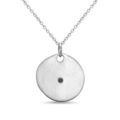 Sunlight Necklace with Black Diamond
