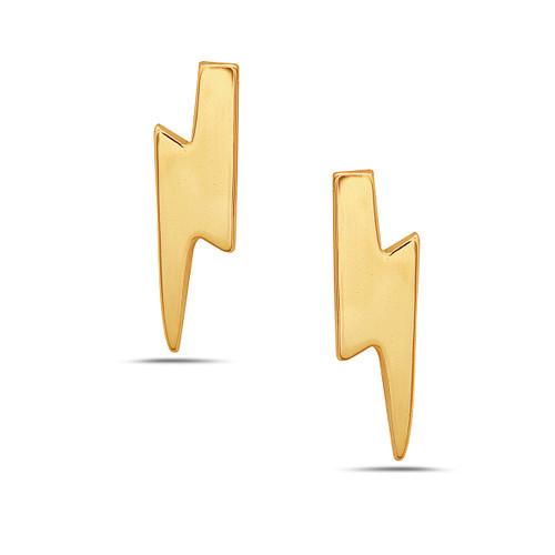 Bowie Inspired Bolt Stud Earrings