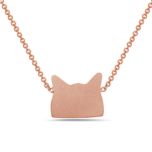 Cat Hat Necklace
