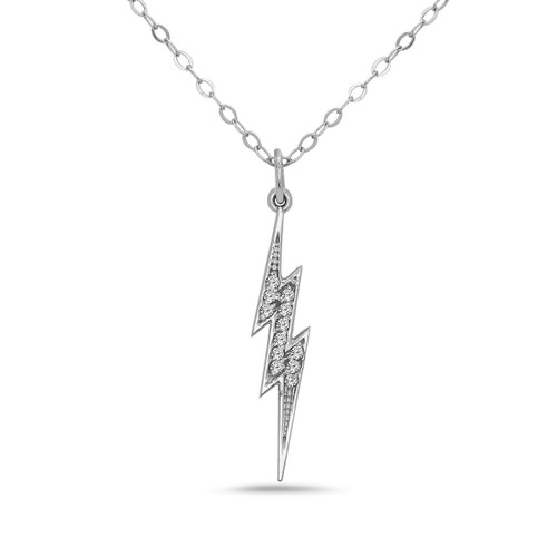 Bolt Diamond Necklace