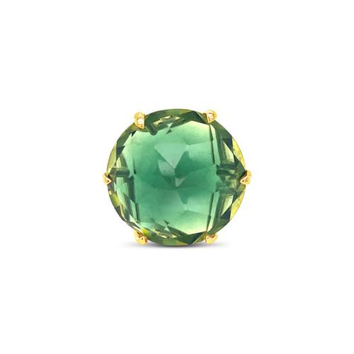 Green Quartz Statement Ring