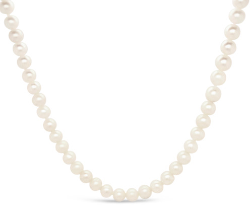 Natural, Freshwater Pearl Necklace (single strand)