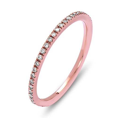 Glow Diamond Eternity Band, Stackable