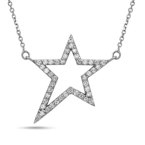 Polaris Diamond Star Necklace