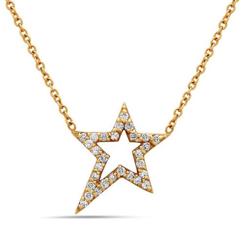 Polaris (Petite) Star Diamond Necklace