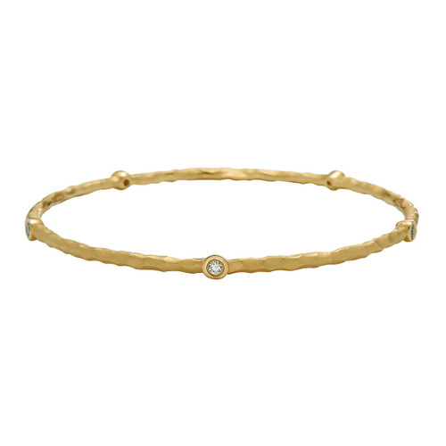 Orbit Diamond Bangle Bracelet