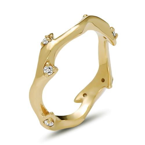 Abundance Diamond Ring, Stackable