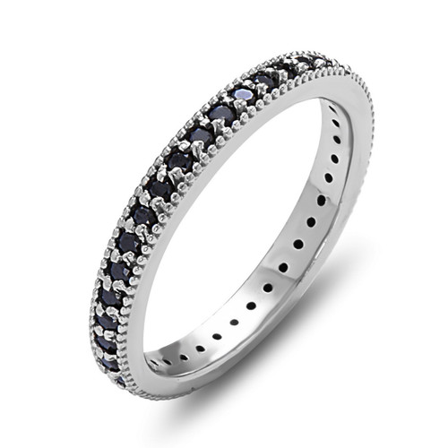 Dusk Black Diamond Ring