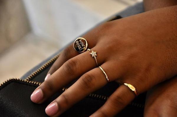 Hot Mama Signet Ring