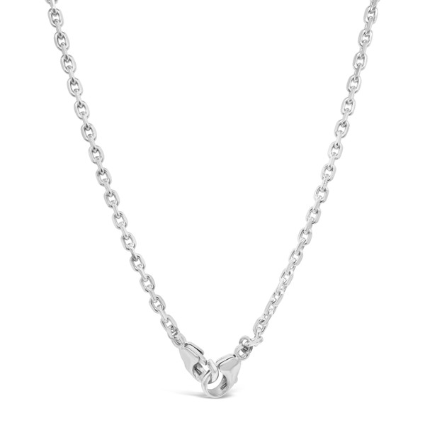 Mask Chain, Sterling Silver