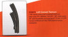 W441-20671  3-Rail C Track - My World -- Left Hand Manual Curved Turnout