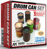 1/24 Doozy Series: Drums Can Set (6) (Resin)