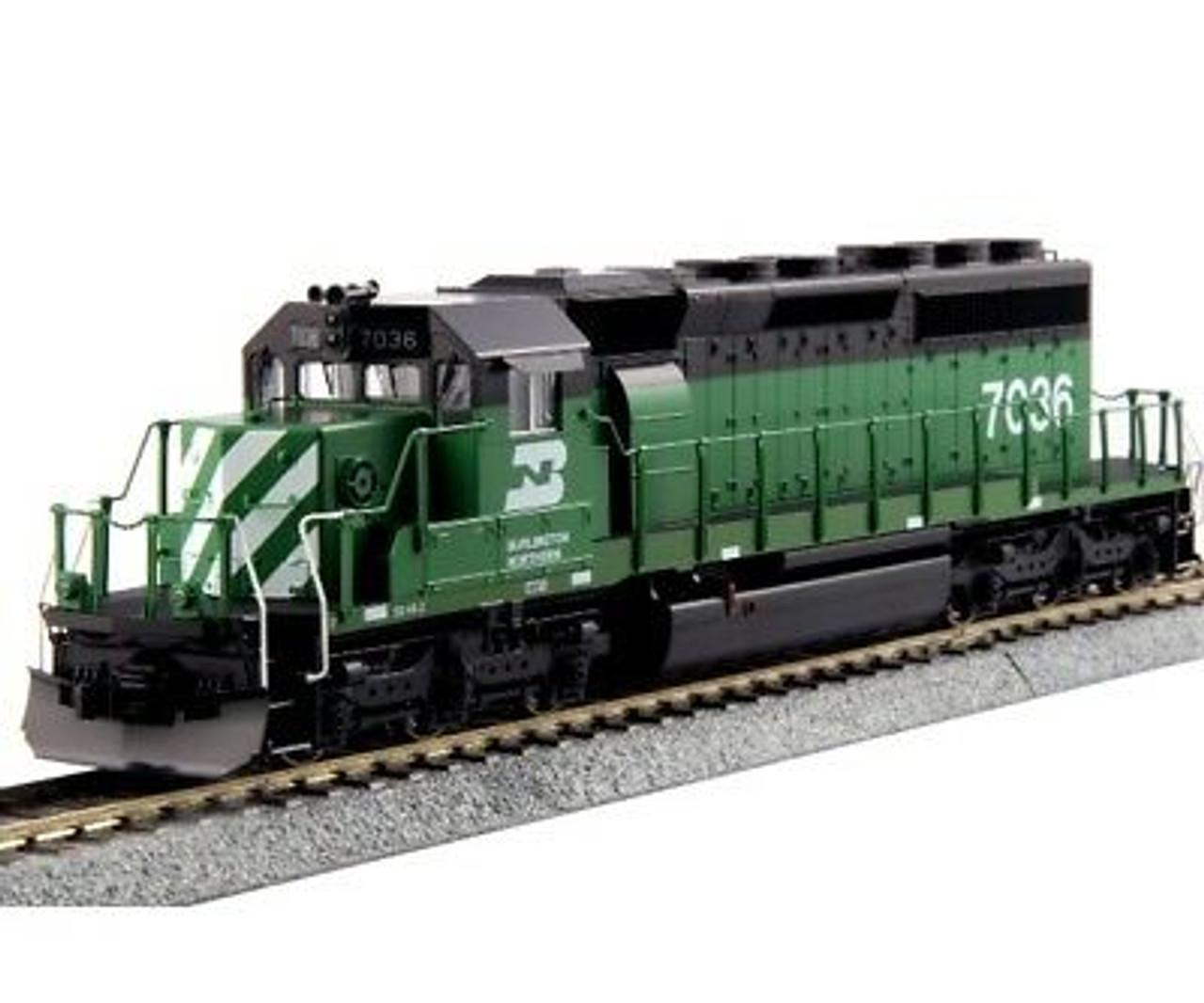 KAT376604LS  HO SD40-2 Diesel BN #7036 w/LokSound