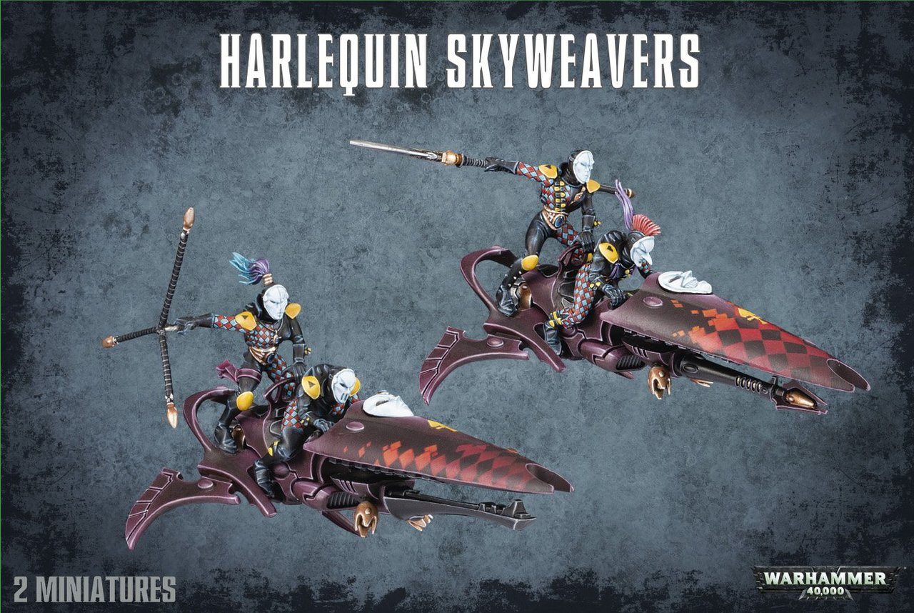 GW58-11  HARLEQUIN SKYWEAVERS