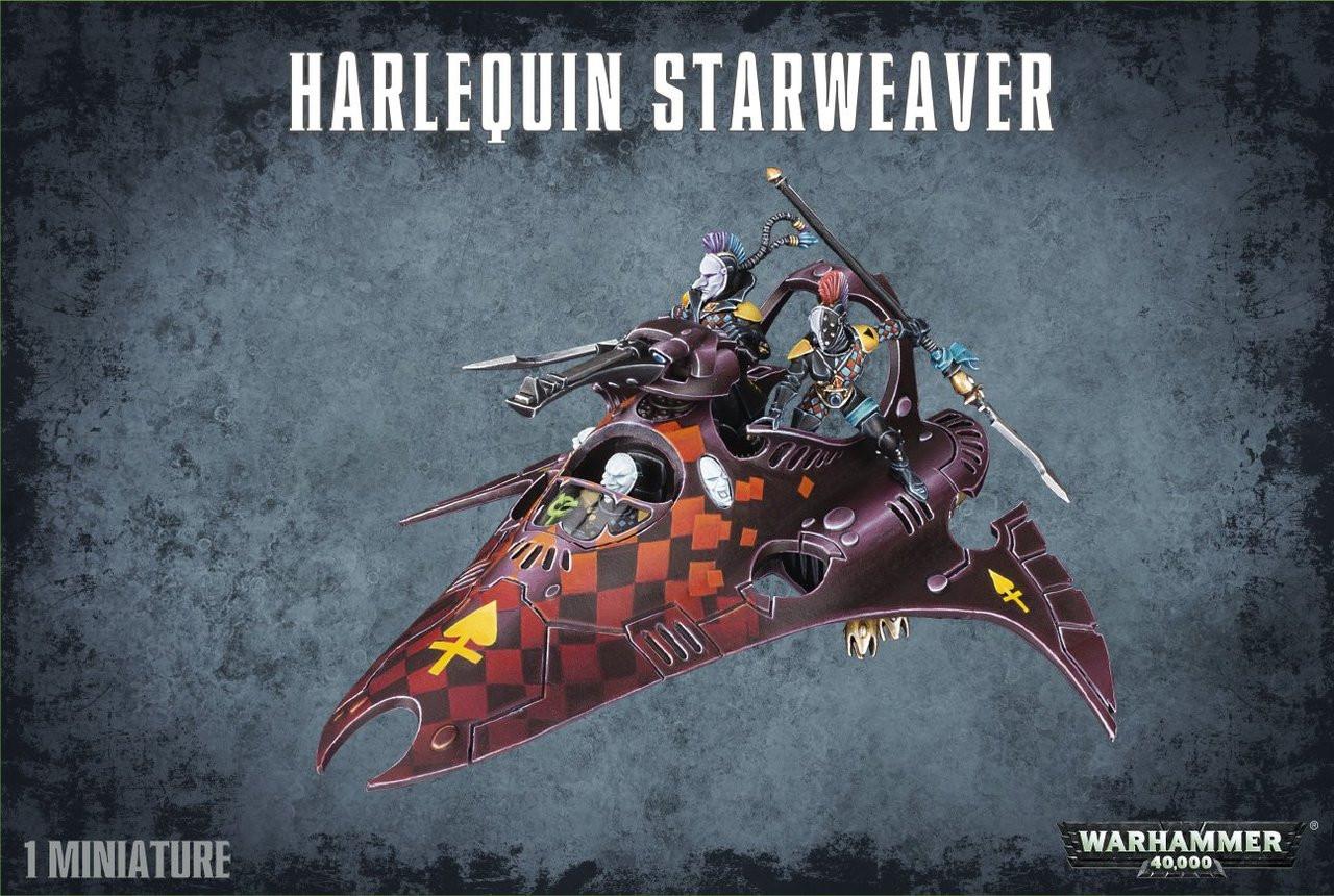 GW58-12  HARLEQUIN STARWEAVER